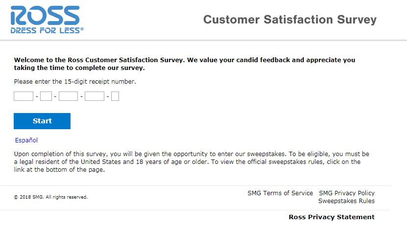 Ross Guest Satisfaction Survey