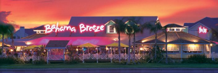 Bahama Breeze Customer Experience Survey