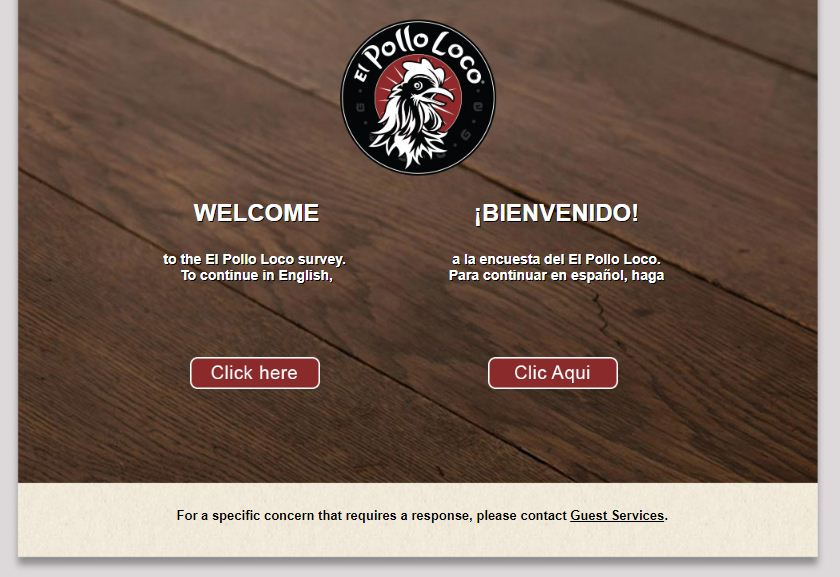 El Pollo Loco Customer Survey
