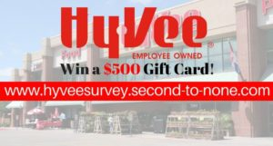 Hy-Vee Guest Experience Survey
