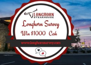 Longhorn Steakhouse Guest Feedback Survey