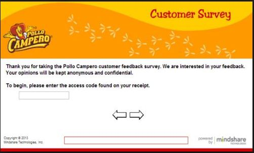 Pollo Campero Guest Survey