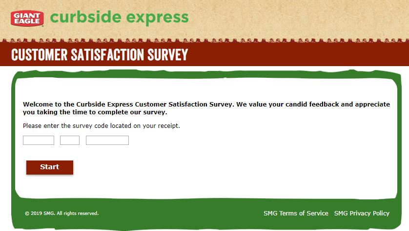 Curbside Express Guest Satisfaction Survey