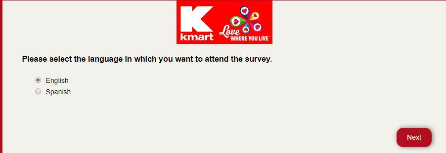 Kmart Guest Satisfation Survey