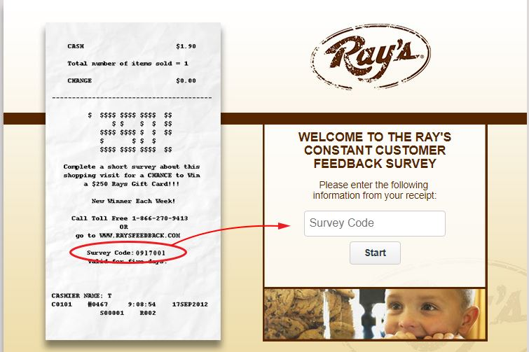 Rays Guest Satisfaction Survey