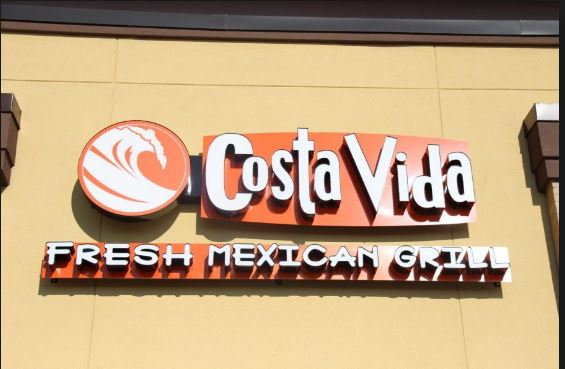costa vida fresh maxican grill survey