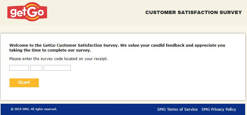 GetGo Customer Satisfaction Survey