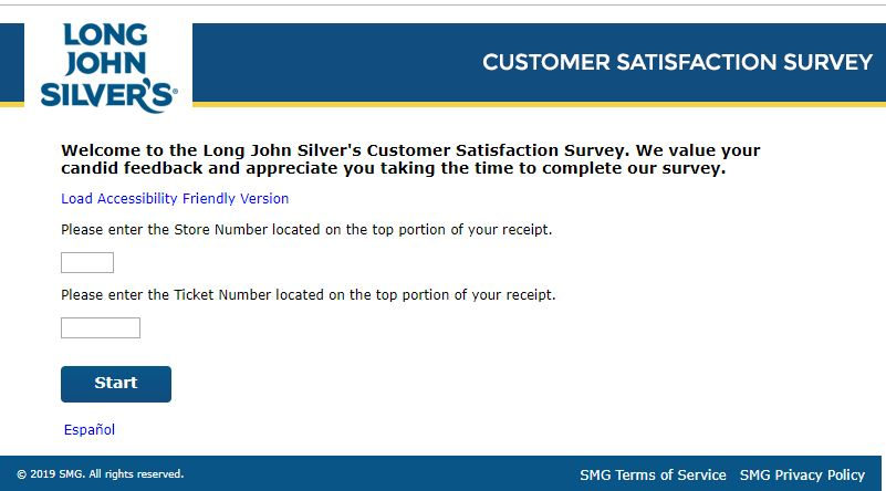 Long John Guest Satisfaction Survey