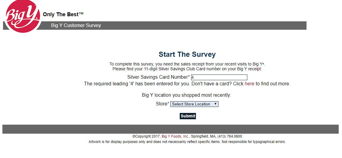 Big Y Customer Satisfaction Survey